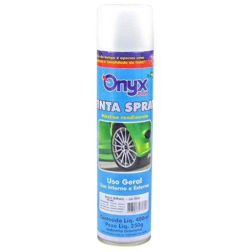 tinta spray uso geral branco brilhante 400ml