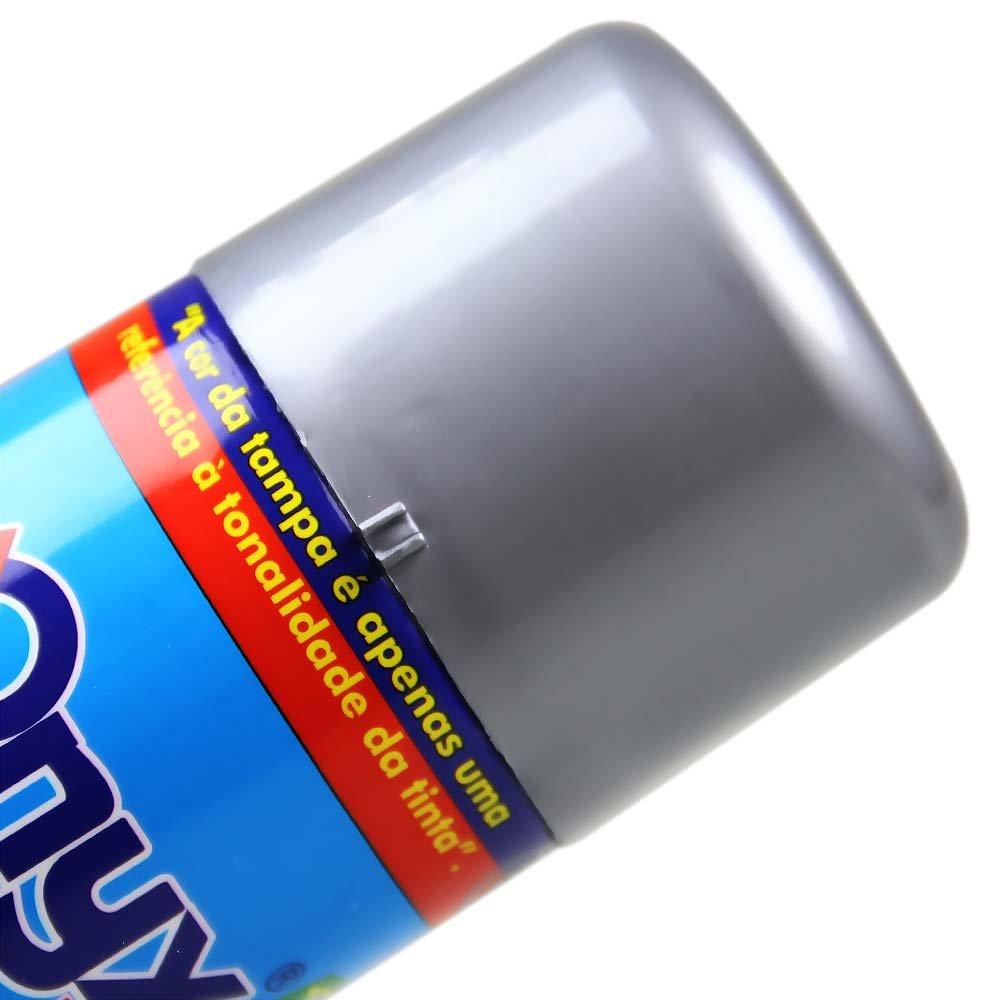 Tinta Spray Alta Temperatura - Alumínio 400ml - Imagem zoom