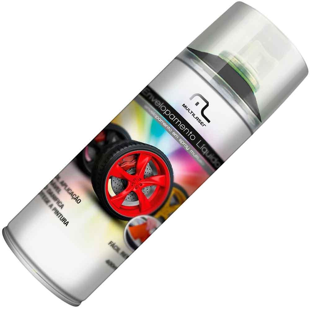 Envelopamento Líquido Preto Fosco em Spray - 400ml - Imagem zoom