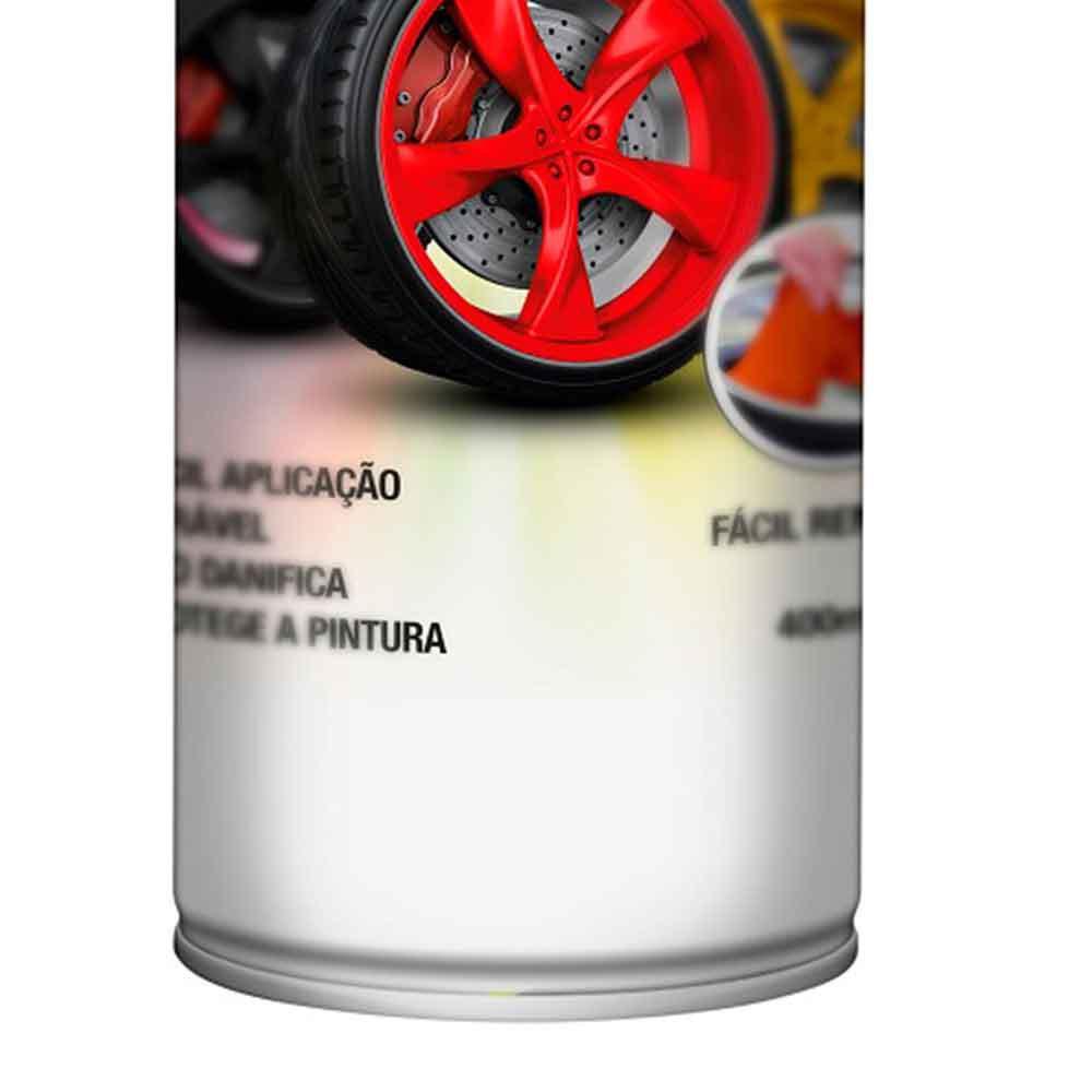 Envelopamento Líquido Prata em Spray - 400ml - Imagem zoom