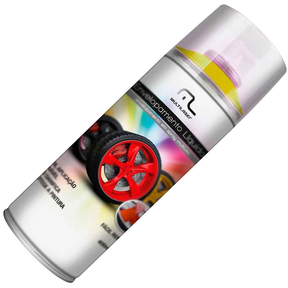 Envelopamento Líquido Amarelo Fluorescente em Spray - 400ml - Imagem zoom
