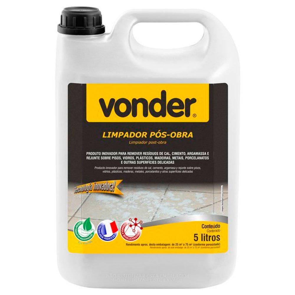 Limpador Pós Obra Biodegradável 5 Litros - Imagem zoom