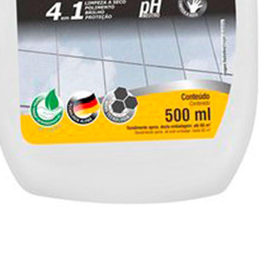 Limpador Multiuso 4 em 1 Pulverizador Biodegradável para Vidros 500ml - Imagem zoom