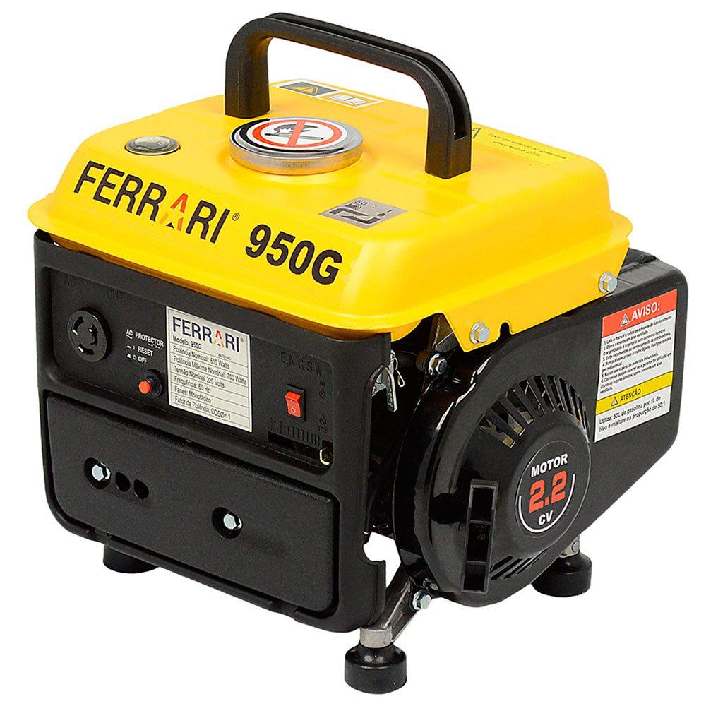 af0ae3d63df Gerador de Energia à Gasolina 2.2CV 63CC - FERRARI-950-G - R 311.92 ...