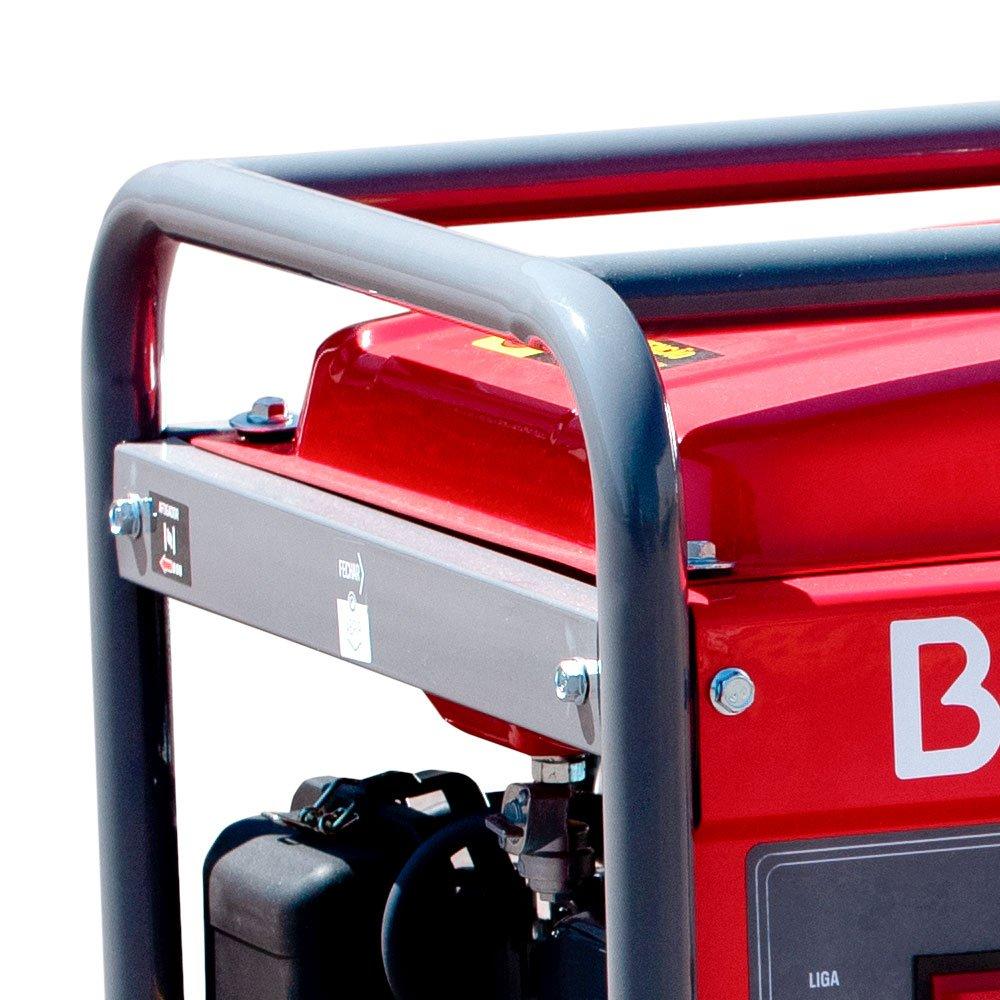 Gerador de Energia à Gasolina B4T-2500 2,2KVA 6,5CV com Partida Manual - Imagem zoom