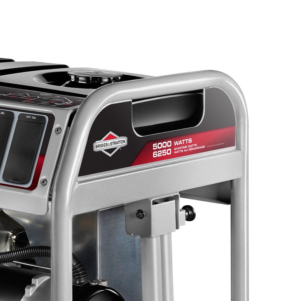 Gerador de Energia à Gasolina 5000 389CC 6250W Monofásico 110/220V com Partida Manual - Imagem zoom