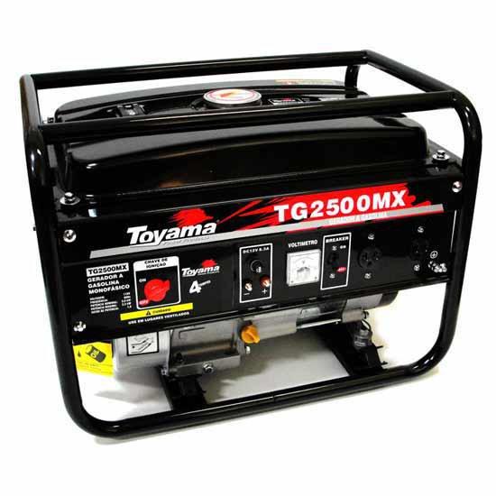 Gerador de Energia a Gasolina 4T Partida Manual 2,2Kva  - Imagem zoom