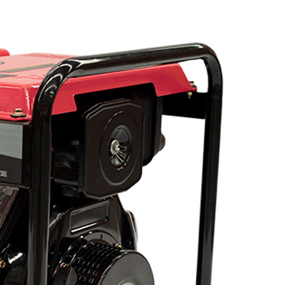 Gerador a Diesel TDG4000BX Mono 296CC 3.3kVA com Partida Manual - Imagem zoom