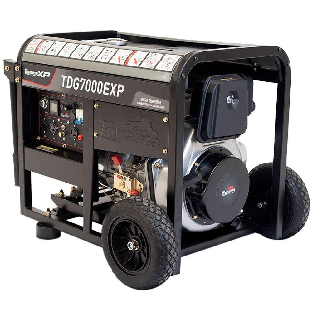 Gerador a Diesel 4T 418CC 6kVA Mono Bivolt com Partida Manual  - Imagem zoom