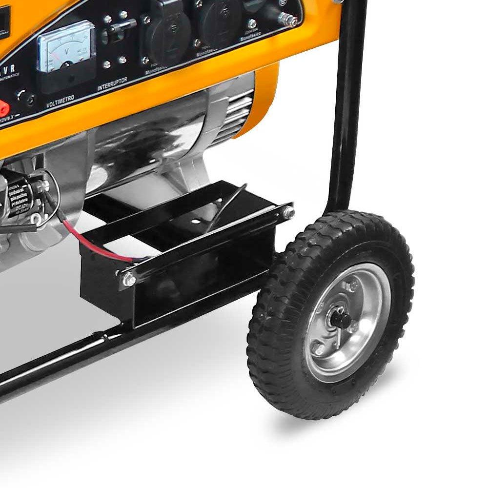 Gerador de Energia à Gasolina GM 8000 E 4T 8,5 Kva 110/220V Partida Elétrica com Rodas - Imagem zoom