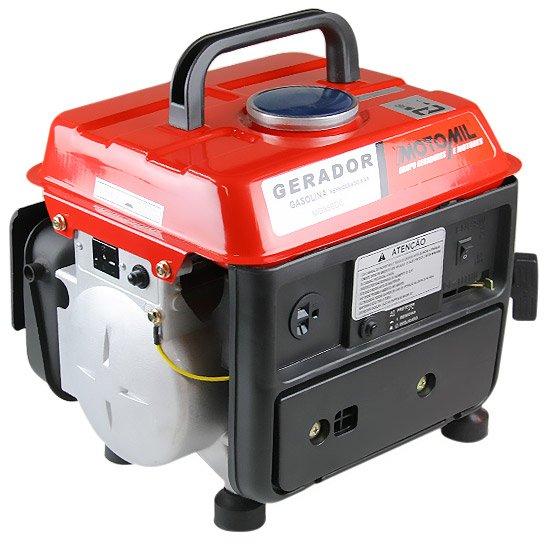 61a14fbfe6a Gerador de Energia a Gasolina 2T Partida Manual 08Kva - MOTOMIL ...