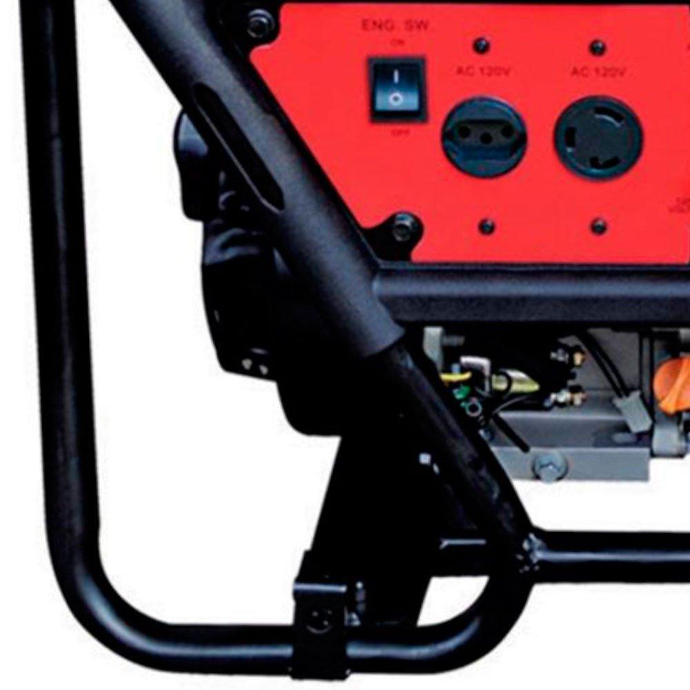 Gerador de Energia à Gasolina 4T Partida Manual 2,5 Kva Bivolt - Imagem zoom