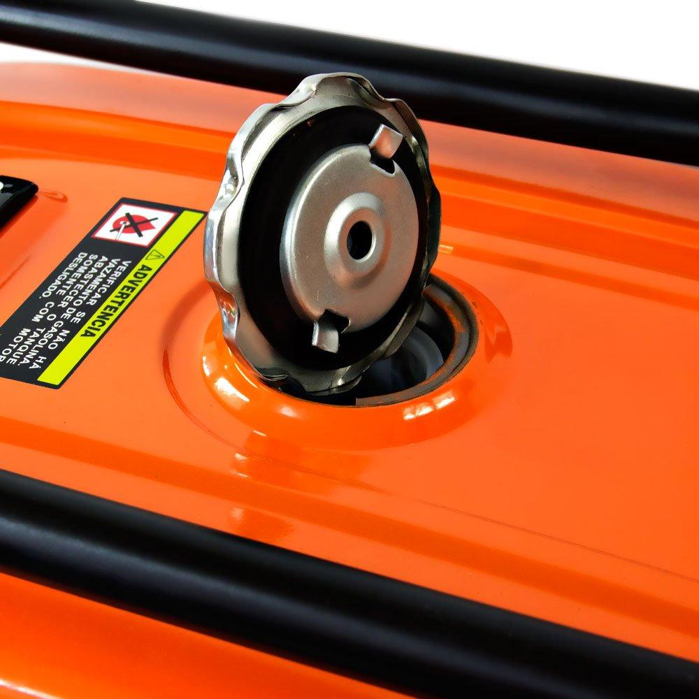 Gerador de Energia a Gasolina 4T Partida Manual 3,10kvA Bivolt - Imagem zoom