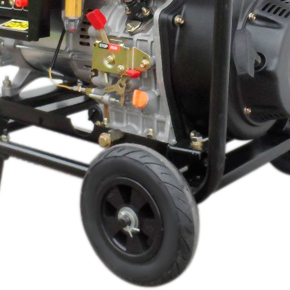 Gerador de Energia à Diesel 4T Partida Elétrica 6,7Kva 110/220V - Imagem zoom