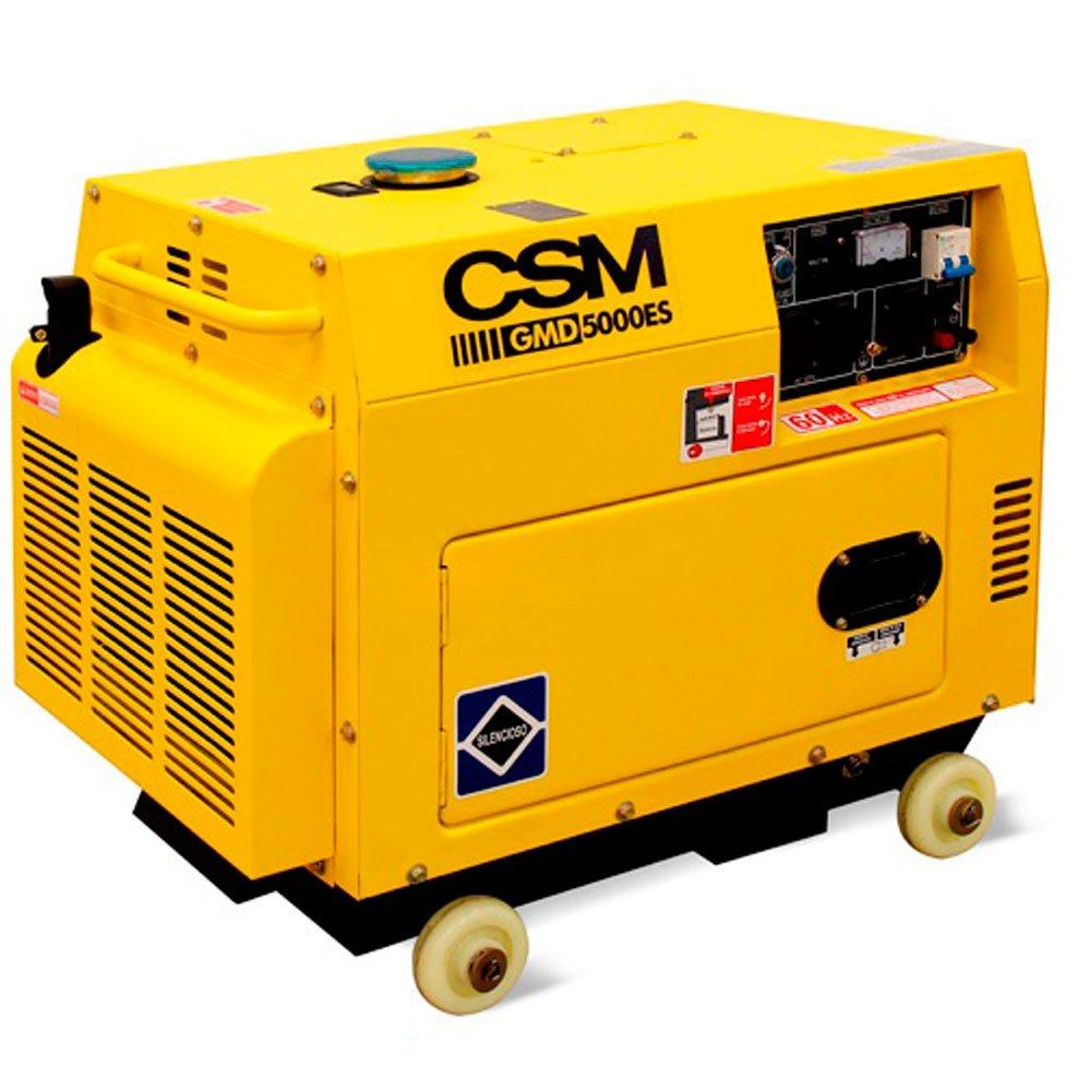 Gerador de Energia à Diesel 4T Partida Elétrica 4,5Kva 6HP 110/220V - Imagem zoom