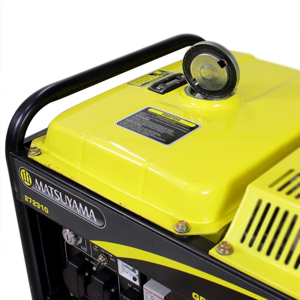 Gerador à Diesel 4000 Monofásico Partida Elétrica 110/220V - Imagem zoom