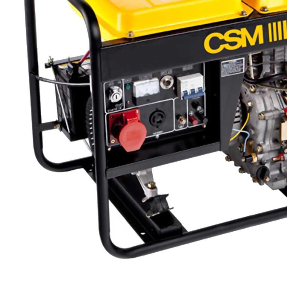Gerador de Energia à Diesel Trifásico 6,25Kva  - GTD 7000E - Imagem zoom