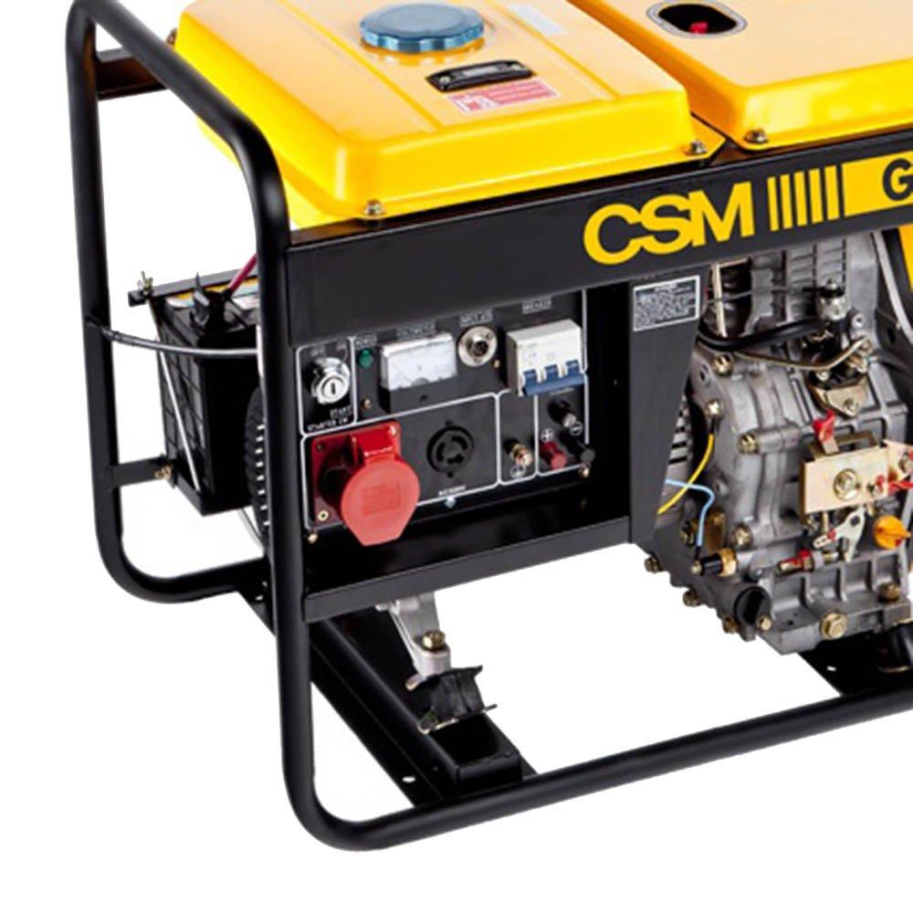 Gerador de Energia à Diesel Trifásico 6,25Kva 380V - Imagem zoom
