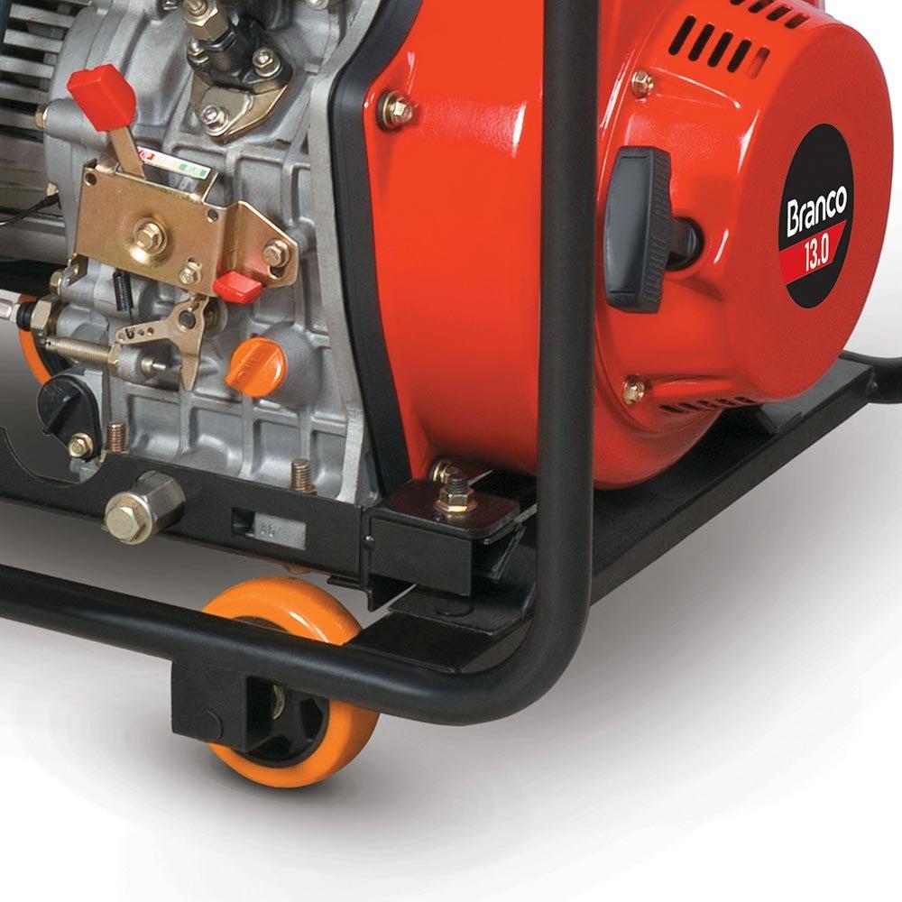 Gerador à Diesel 6,5Kva Partida Elétrica BD-8000 EF - Imagem zoom