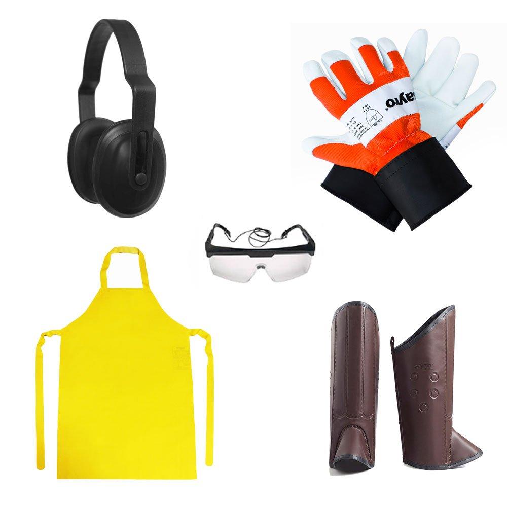 Kit de Segurança para Operador de Roçadeiras - Imagem zoom