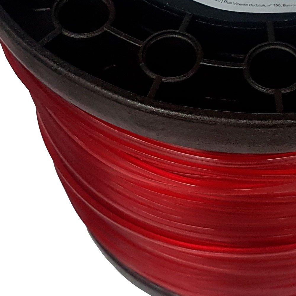 Bobina de Fio de Nylon Quadrado 3mm 2Kg para Roçadeira - Imagem zoom