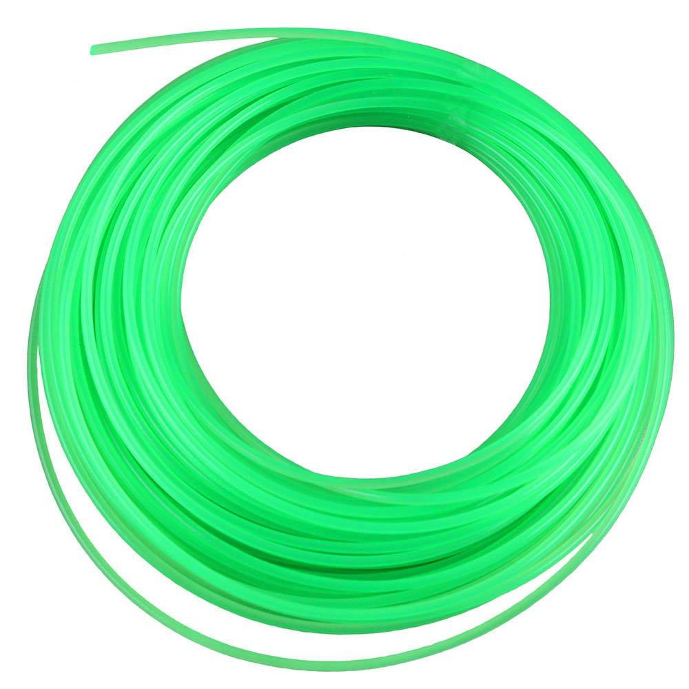 Fio de Nylon Verde Redondo 1,65mm 15 Metros