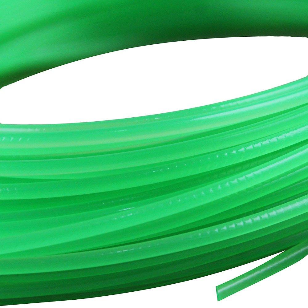 Fio de Nylon Verde Redondo 1,65mm 15 Metros - Imagem zoom