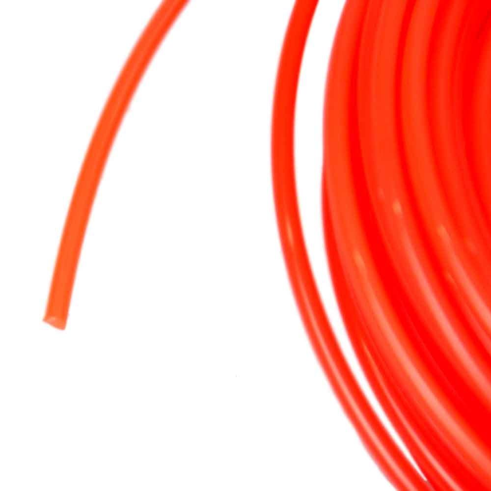 Fio de Nylon Laranja Redondo 2,70mm x 15 Metros - Imagem zoom