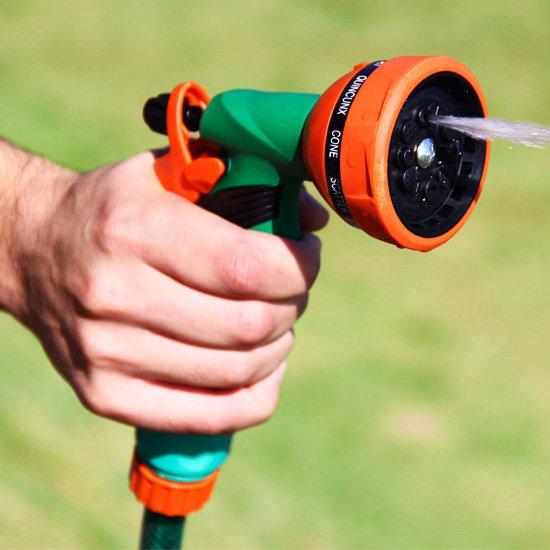 Hidro Pistola Multifunção para Engate Rápido com 10 Tipo de Jato - Imagem zoom