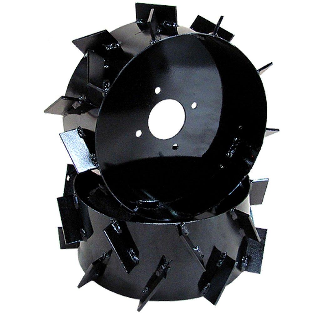 Conjunto de Rodas de Ferro Aro 8 Pol para Motocultivadores