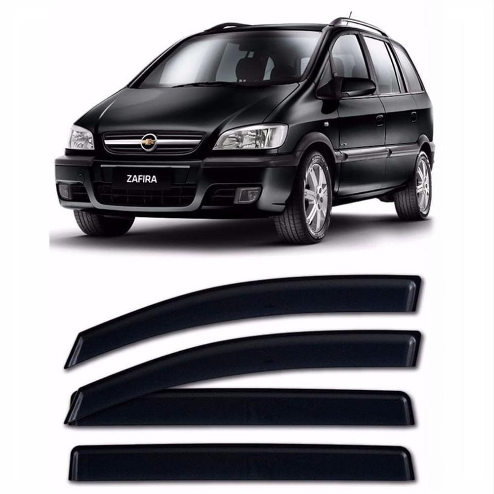 Calha de Chuva 4 Portas Chevrolet Zafira 2001 até 2012 - Imagem zoom