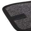 Jogo de Tapetes Carpete Meriva Universal Grafite com 5 Peças - Imagem 4