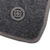 Jogo de Tapetes Carpete New Civic 07/13 Universal Grafite com 3 Peças - Imagem 3