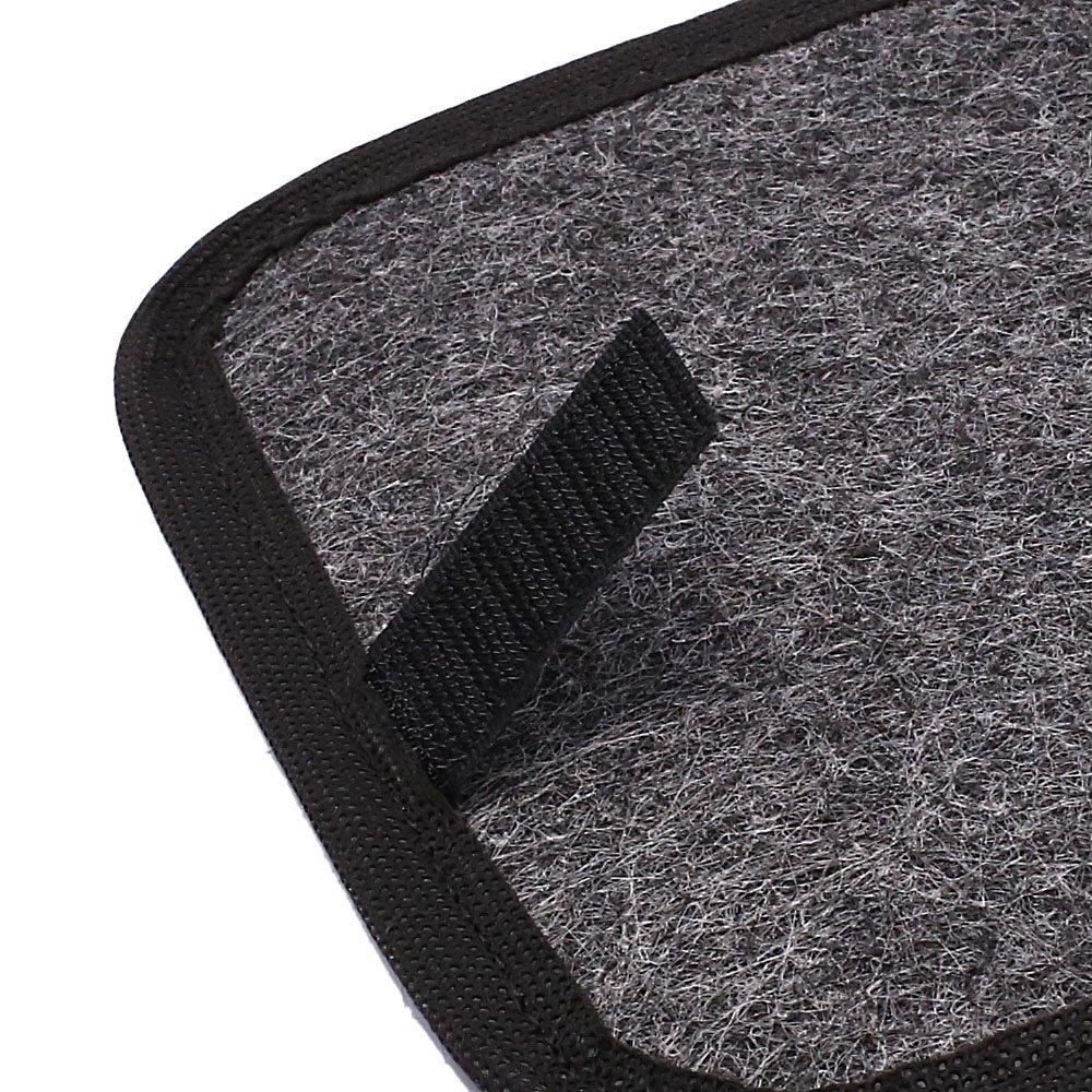 Jogo de Tapetes Carpete Golf 08/12 Universal Grafite com 5 Peças - Imagem zoom