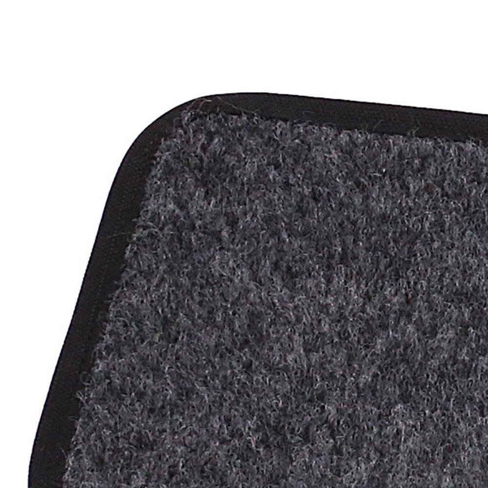 Jogo de Tapetes Carpete Fox Universal Grafite com 5 Peças - Imagem zoom