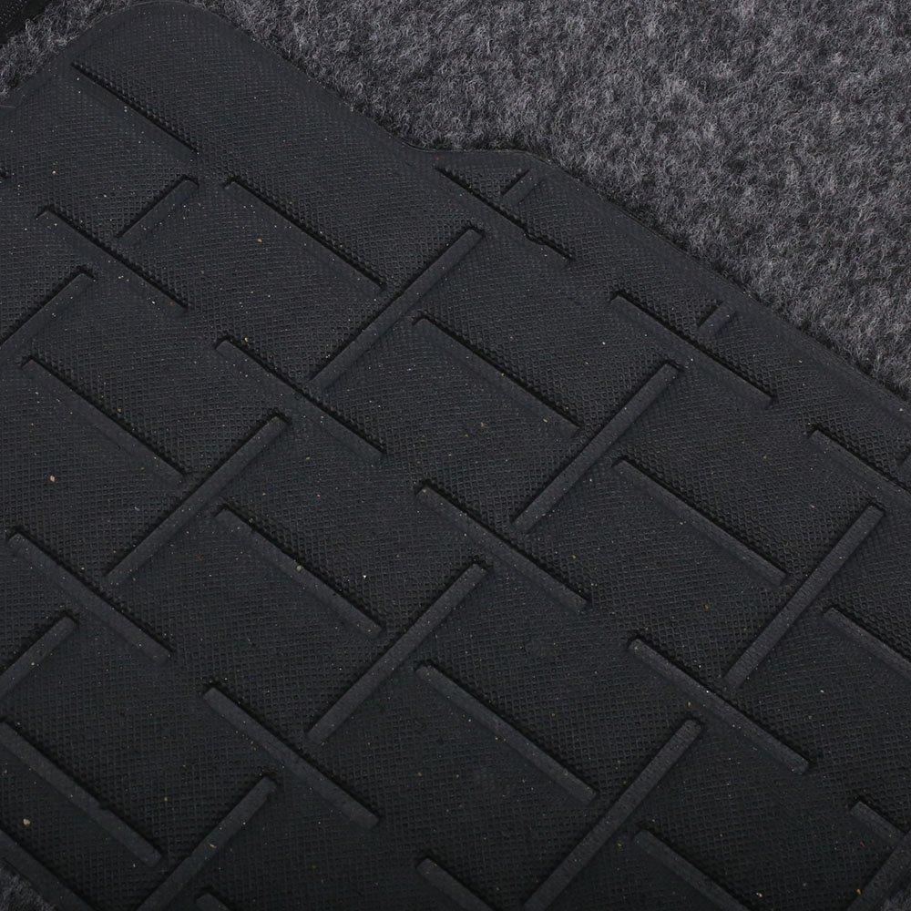 Jogo de Tapetes Carpete Ford Universal Grafite com 4 Peças - Imagem zoom