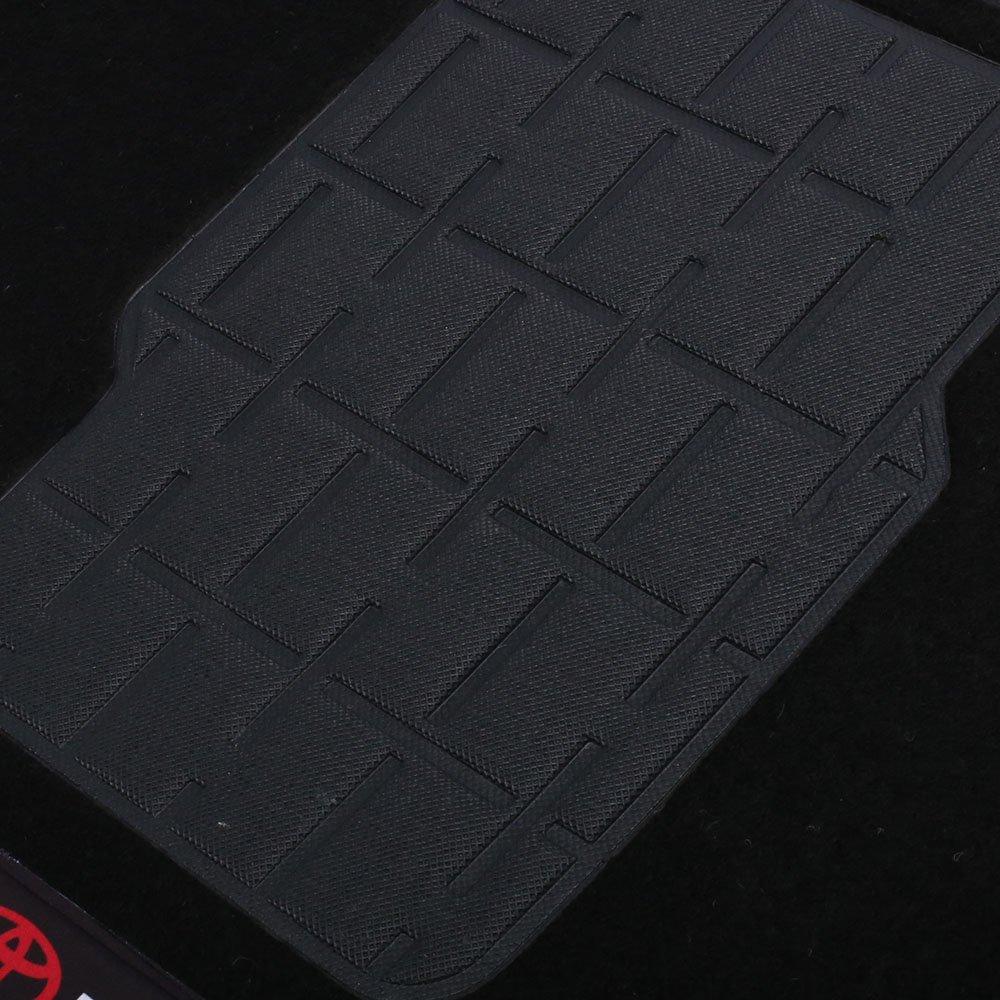 Jogo de Tapetes Carpete Toyota Universal Preto com 4 Peças - Imagem zoom