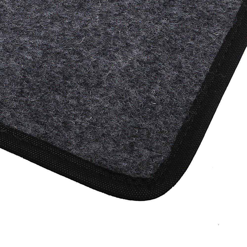 Jogo de Tapetes Carpete Volkswagen Universal Grafite com 4 Peças - Imagem zoom