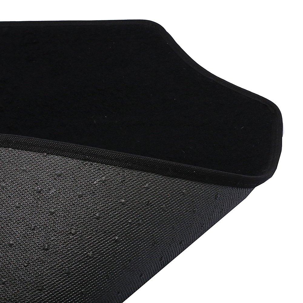 Jogo de Tapetes Carpete Honda Universal Preto com 4 Peças - Imagem zoom