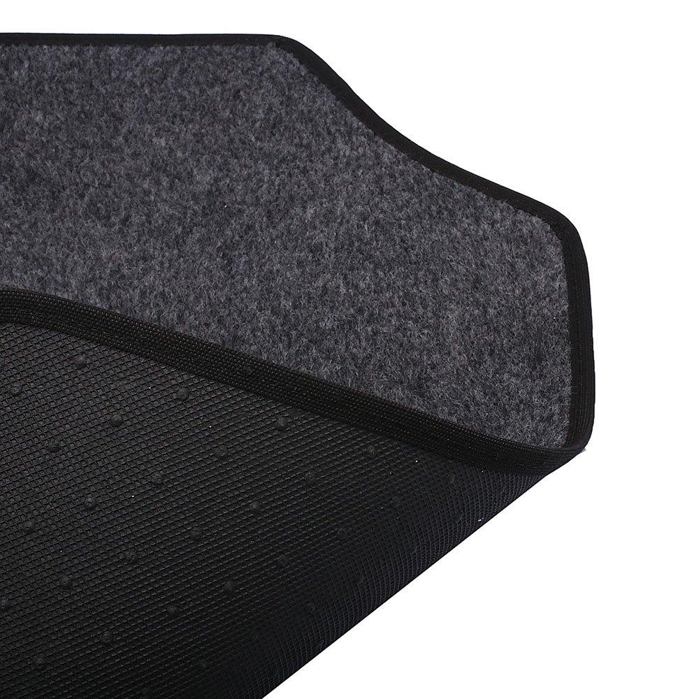 Jogo de Tapetes Carpete Honda Universal Grafite com 4 Peças - Imagem zoom