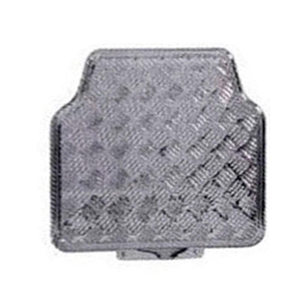 Jogo de Tapetes em Alumínio Cinza para Automóveis - Imagem zoom