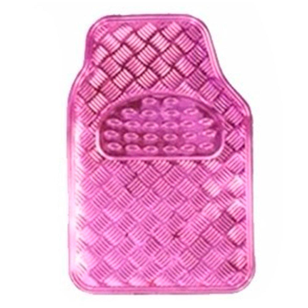 Jogo de Tapetes em Alumínio Rosa para Automóveis - Imagem zoom