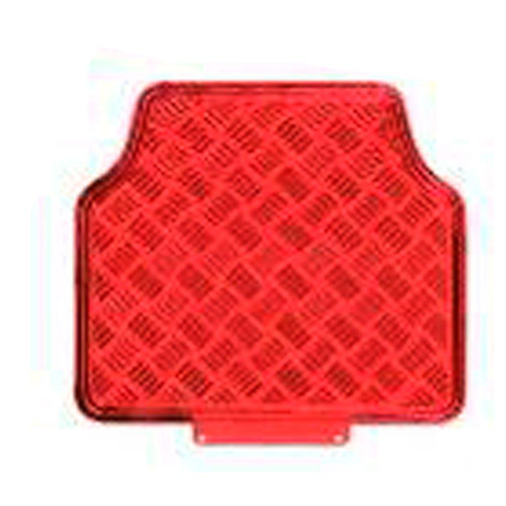 Jogo de Tapetes em Alumínio Vermelho para Automóveis - Imagem zoom