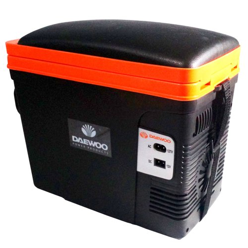 mini geladeira portátil termoelétrica 6 litros 12v/110v