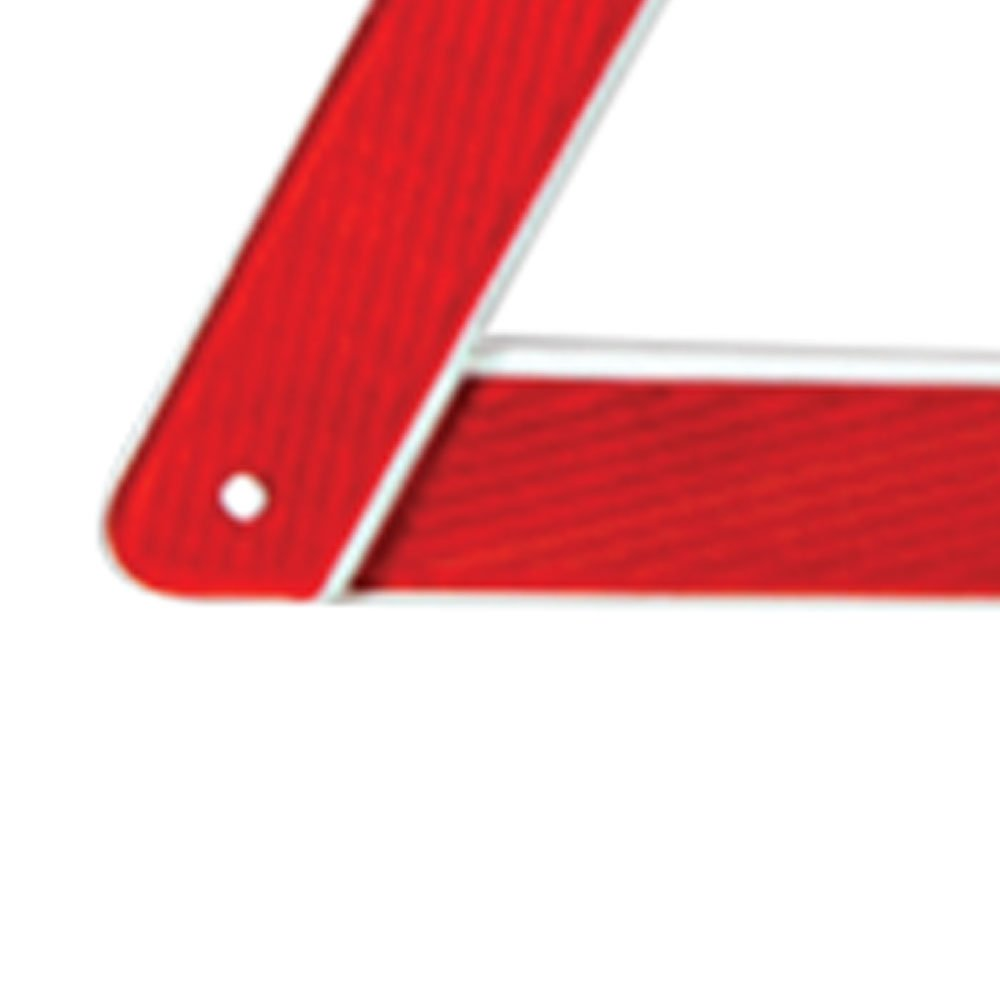 Triângulo de Segurança com Base Pesada - Imagem zoom