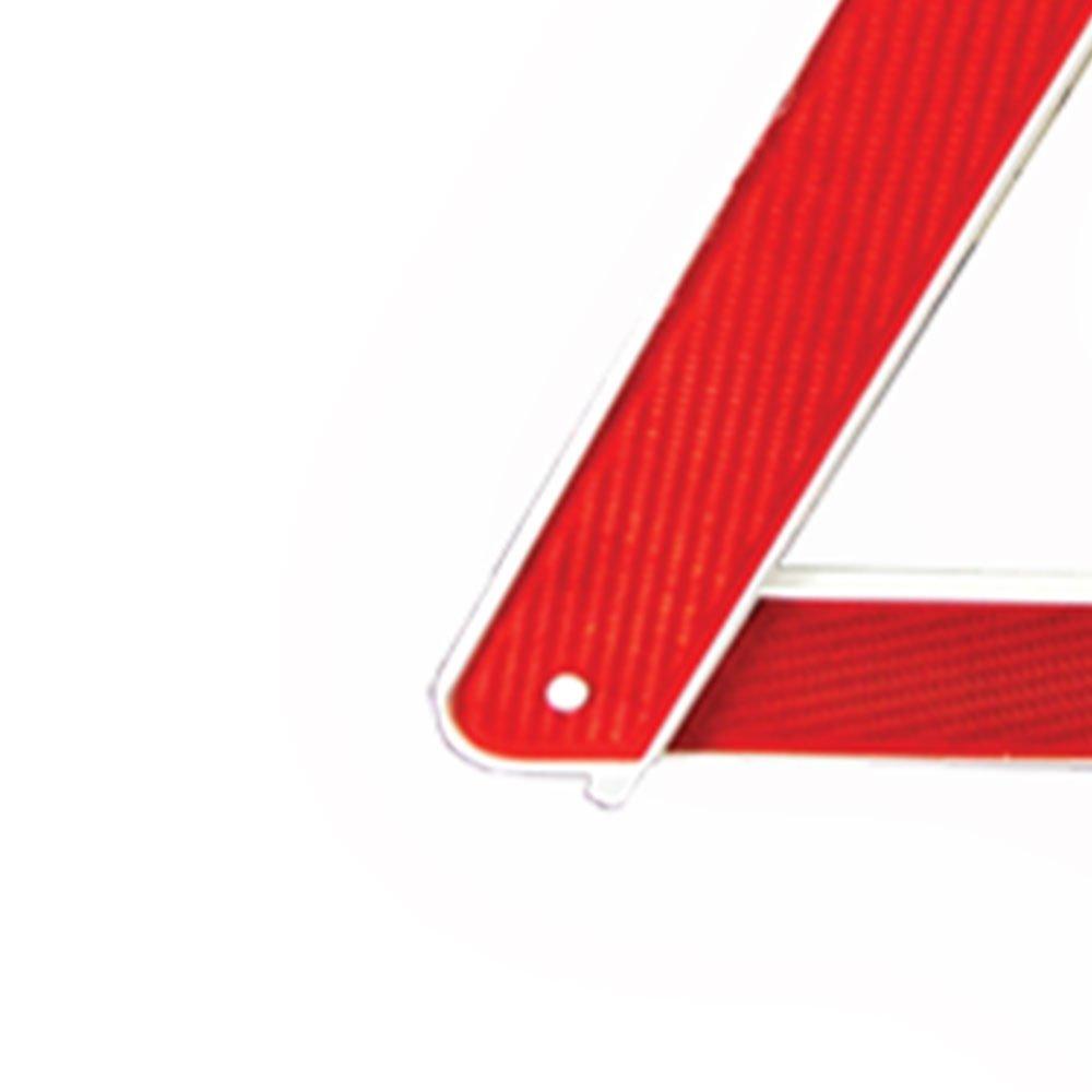 Triângulo de Segurança Simples com Base Branca - Imagem zoom