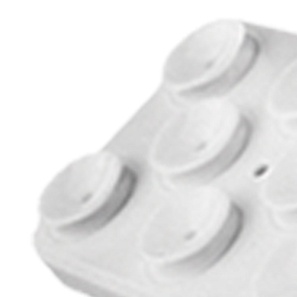 Suporte Branco para Smartphone Fixado por Ventosas - Imagem zoom
