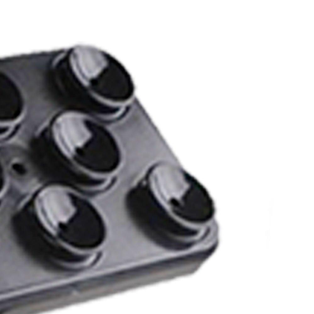 Suporte Preto para Smartphone Fixado por Ventosas - Imagem zoom