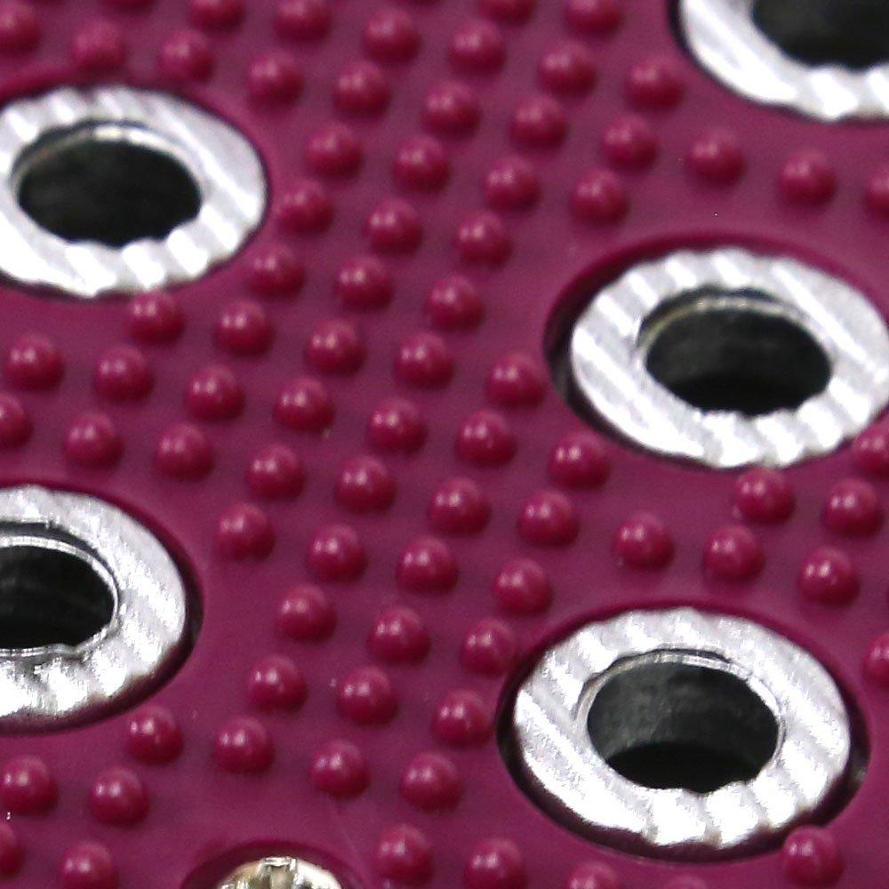 Conjunto de Pedaleira Tunning Vermelha - Imagem zoom