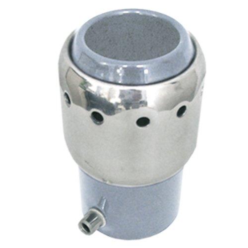 ponteira para escapamento linha turbo 032 reta 2 1/16 pol. prata